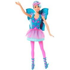 Boneca Barbie Mix & Match Fada Azul Mattel