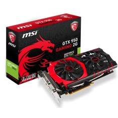 Placa de Video NVIDIA GeForce GTX 950 2 GB GDDR5 128 Bits MSI GTX 950 GAMING 2G