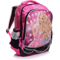 Mochila Escolar Sestini Barbie 20 Litros Barbie Rock N Royals 64345 G