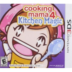 Jogo Cooking Mama 4: Kitchen Magic Majesco Entertainment Nintendo 3DS