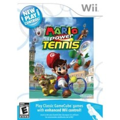 Jogo New Play Control! Mario Power Tennis Wii Nintendo