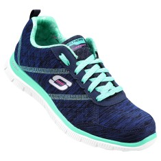Tênis Skechers Feminino Flex Appeal Pretty City Corrida