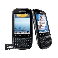 Smartphone Motorola Spice Key XT316 3,0 MP Android 2.3 (Gingerbread) Wi-Fi 3G