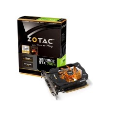 Placa de Video NVIDIA GeForce GTX 750 Ti 2 GB GDDR5 128 Bits Zotac ZT-70601-10M