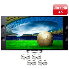 "Smart TV LED 3D 65"" Sony Bravia 4K XBR-65X905A"