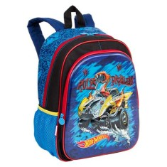 Mochila Escolar Sestini Hot Wheels 17X G 64758