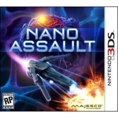 Jogo Nano Assault Majesco Entertainment Nintendo 3DS