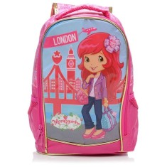 Mochila Escolar Xeryus Moranguinho London Paris 14 5683