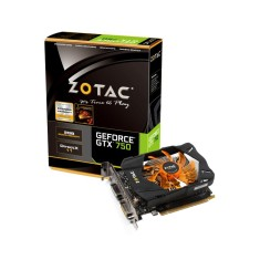 Placa de Video NVIDIA GeForce GTX 750 2 GB GDDR5 128 Bits Zotac ZT-70704-10M