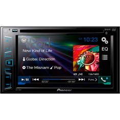 "DVD Player Automotivo Pioneer 6 "" AVH-278BT Touchscreen USB"