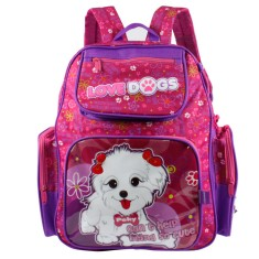 Mochila Escolar Republic Vix Love Dogs 8730157