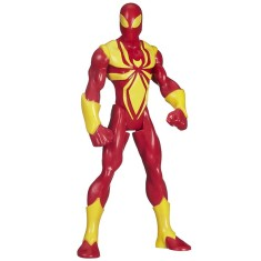 Boneco Marvel Ultimate Spider-Man Iron Web Warriors B1247 - Hasbro