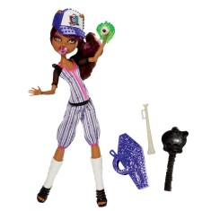 Boneca Monster High Esporterror Clawdeen Mattel