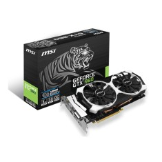 Placa de Video NVIDIA GeForce GTX 960 2 GB GDDR5 128 Bits MSI GTX 960 2GD5T OC
