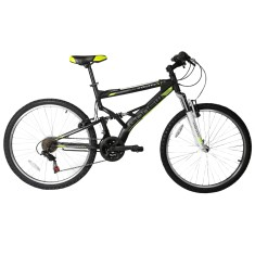Bicicleta Mountain Bike Gonew 21 Marchas Aro 26 Suspensão Full Suspension Freio V-Brake Endorphine 5.7