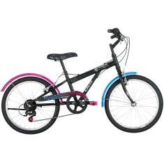 Bicicleta Caloi Monster High 7 Marchas Aro 20 Freio V-Brake