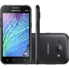 Smartphone Samsung Galaxy J1 Ace Duos 4GB J110L 5,0 MP 2 Chips Android 4.4 (Kit Kat) 3G Wi-Fi