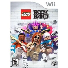 Jogo Lego Rock Band Wii Warner Bros