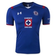 Camisa Torcedor Cruz Azul I 2014/15 sem Número Under Armour