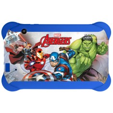 "Tablet Multilaser Disney Vingadores NB240 8GB 7"" Android 2 MP 4.4 (Kit Kat)"