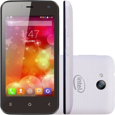Smartphone Qbex 4GB X Pocket 5,0 MP 2 Chips Android 4.4 (Kit Kat) 3G Wi-Fi