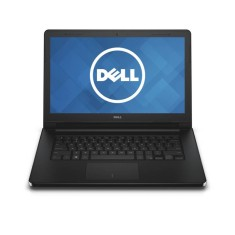 "Notebook Dell 3458 Intel Core i3 4005U 14"" 4GB HD 500 GB Linux"