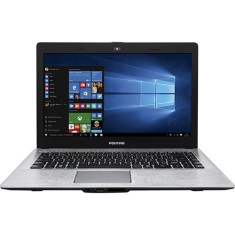 "Notebook Positivo Stilo Intel Celeron N2808 4GB de RAM HD 500 GB 14"" Windows 10 Home XR3550"