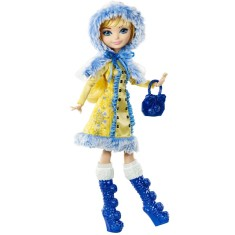 Boneca Ever After High Feitiço de Inverno Blondie Lockes Mattel